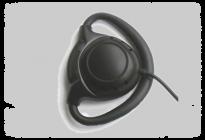 kul-01 kablosuz regber kulakliği, tour guide, infoport, ses sistemi, tekli mono kulaklık